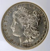 1883-S Morgan Silver Dollar NGC AU 53