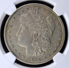 1894 Morgan Silver Dollar NGC VF 30
