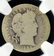 1903-S Barber Dime NGC AG 3