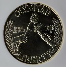 1988-D Olympics Silver Dollar NGC MS 69