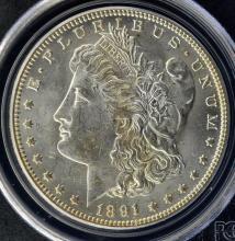 1891 O Morgan Silver Dollar PCGS MS62 - Old Holder