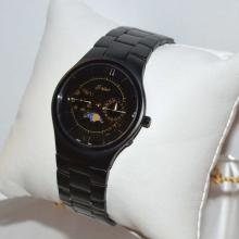 Men's Black Moonphase Belair Watch