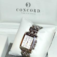 Man's Stainless Concord Sportivo Watch