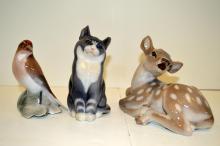 Three Royal Copenhagen/Bing & Grondahl Figurines