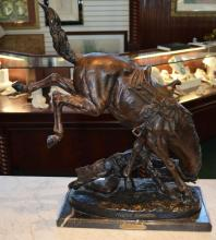 Bronze After Frederic Remington