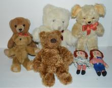 Seven Stuffed Animals