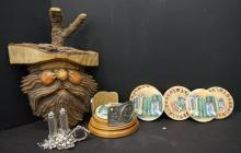 Lot of Eclectic decorative items