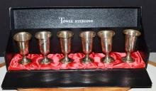 Towle Sterling Shot Cups
