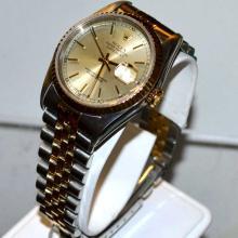 Man's 18k & Stainless Rolex Datejust Watch