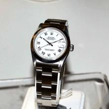Stainless Rolex Datejust Watch Mid size