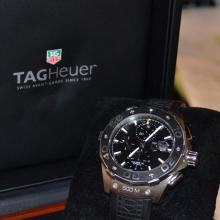 Man's CAJ 2110 Tag Heuer Chronograph Watch