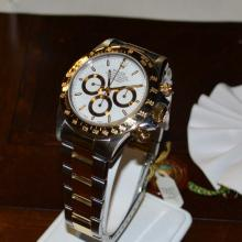 Man's 18k & Stainless Rolex Daytona Watch