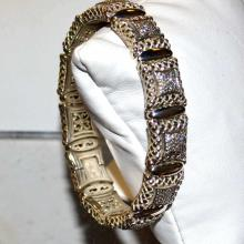 Sterling Diamond Bracelet By Scott Kay 2.5ctw