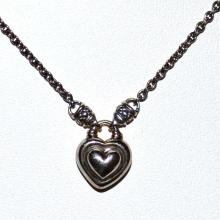 Sterling Heart Pendant By Scott Kay