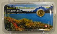 2001 Canadian $5.00 Gold Maple Leaf