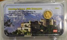 Austrian Gold 200 Schilling Philharmonic