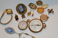 Lot Of Assorted Watches & Jewelry