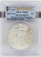 2013-(S) Silver American Eagle