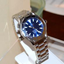 Stainless Omega Seamaster Watch Mid Size