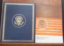 THE FRANKLIN MINT PRESIDENTIAL SILVER MEDALS