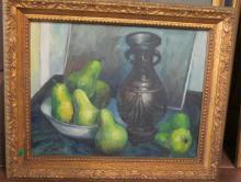 1961 Walton Bortsch Painting