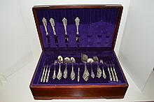 Set Of Wallace Sterling Silver Flatware