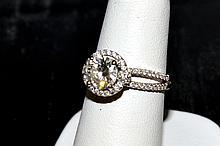 1.29ct Round Diamond Engagement H/SI2 EGL