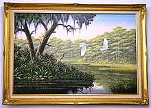 Original Acrylic on Canvas signed Ben Essenburg