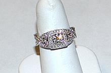 14kwg Diamond Engagement Ring