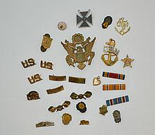 Group Of Pins And Buttons