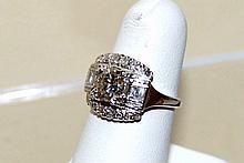 Vintage Platinum Diamond Ring 1.90ctw