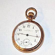 14kyg Waltham Riverside Pocket Watch