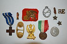 Group Of Insignia And Medals