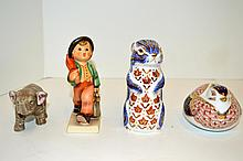 Four Figurines