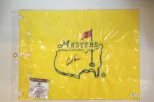 Arnold Palmer Signed Pin Flag