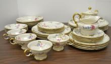 Castleton china Sunnyvale place setting for four
