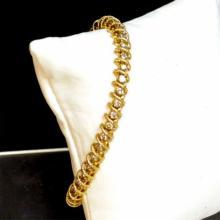 14kyg Diamond Bracelet 2ctw