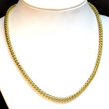 14kyg Fancy Link Necklace