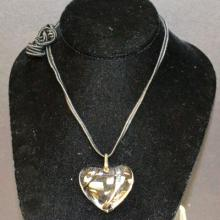 Baccarat Crystal Heart Necklace