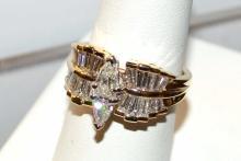 14kyg Diamond Engagement Ring 2.53ctw