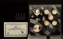 2012 U.S. Limited Edition Silver Proof Set
