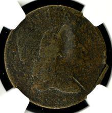 1794 Cent NGC VG Details Corrosion, Damaged