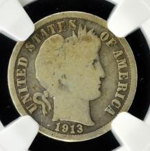 1913-S Barber Dime NGC G 4