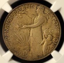 1915-S Pan Pacific Half Dollar NGC MS63