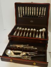 Set Of International Sterling Silver Flatware