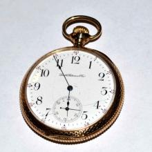 14kyg Smith Patterson Pocket Watch