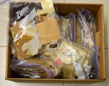 Box Lot of 1,000's of Loose Foreign Stamps