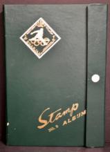 1855-1970 U.S. Stamps in Green Album
