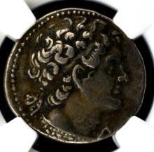 180-145 BC Ptolemaic Kingdom Ptolemy VI NGC Ch VF