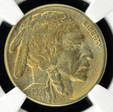1921-S Buffalo Nickel NGC XF Details